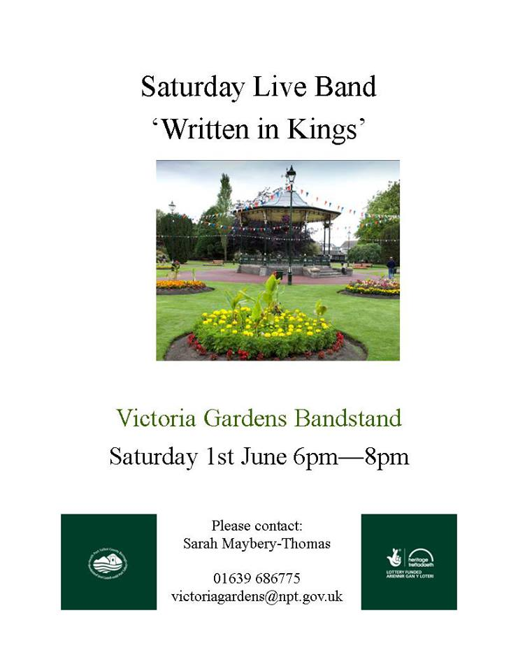 Victoria Gardens Events This Saturday Fyi Neath